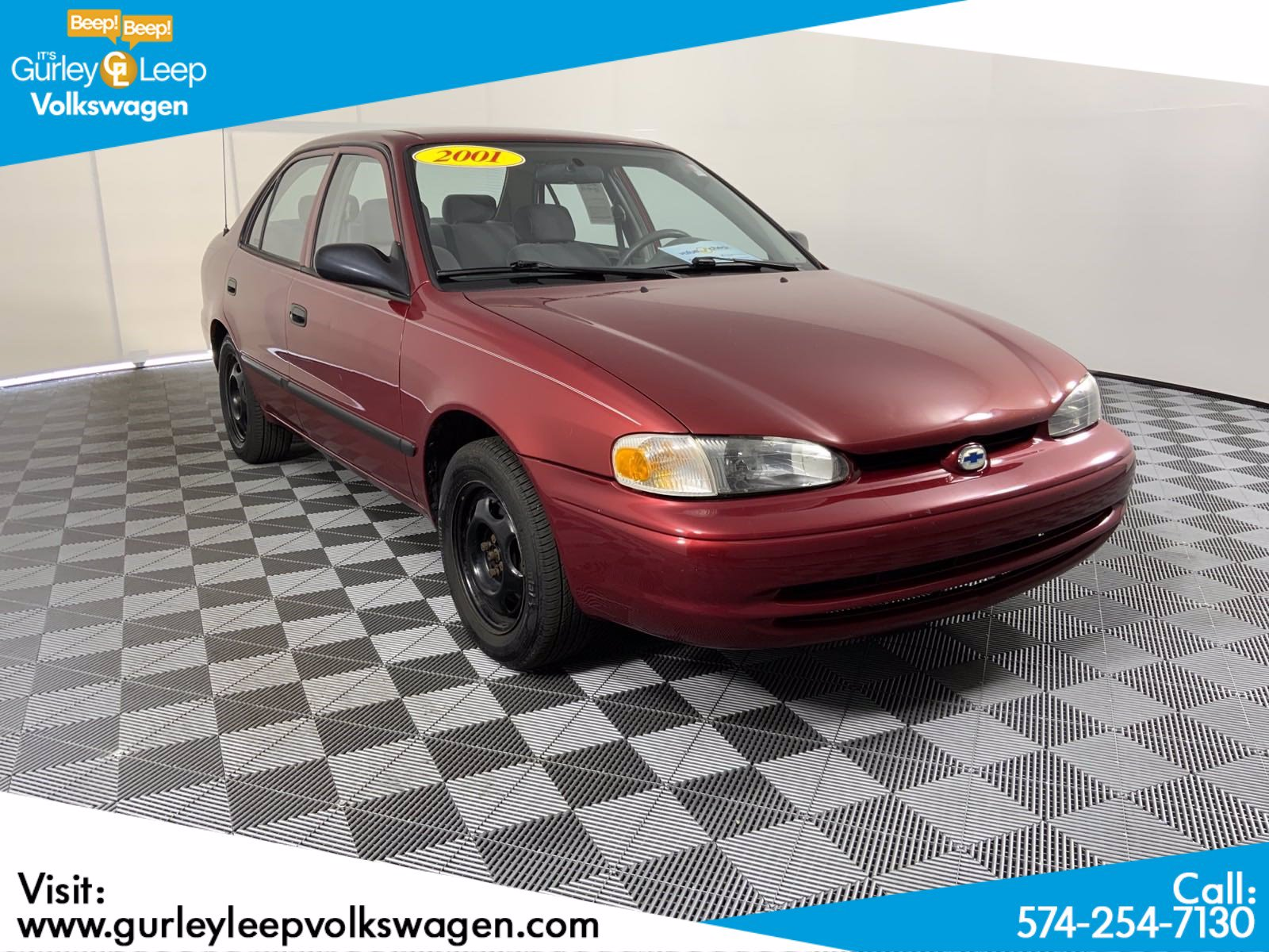 Pre-Owned 2001 Chevrolet Prizm Base